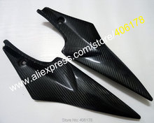 Hot Sales,2 x Carbon Fiber Tank Side Covers Panels Fairing For Suzuki GSXR 600 750 2006 2007 K6 GSX-R Tank Side Cover Panel