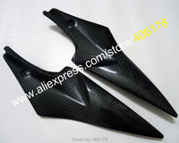 Hot Sales,2 x Carbon Fiber Tank Side Covers Panels Fairing For Suzuki GSXR 600 750 2006 2007 K6 GSX R Tank Side Cover Panel
