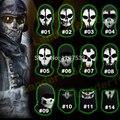 100% Original Ghost Máscaras Cráneo Balaclava Ski Paintball Al Aire Libre Airsoft Táctico Militar Del Ejército WarGame Sombreros Del Juego Máscara de Cara Completa