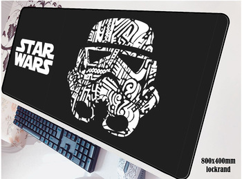 Star Wars коврик для мыши большой коврик для мышь Notbook коврик для компьютерной мышки дешевый игровой padmouse геймер для ноутбука 80x40 см Коврик для м...