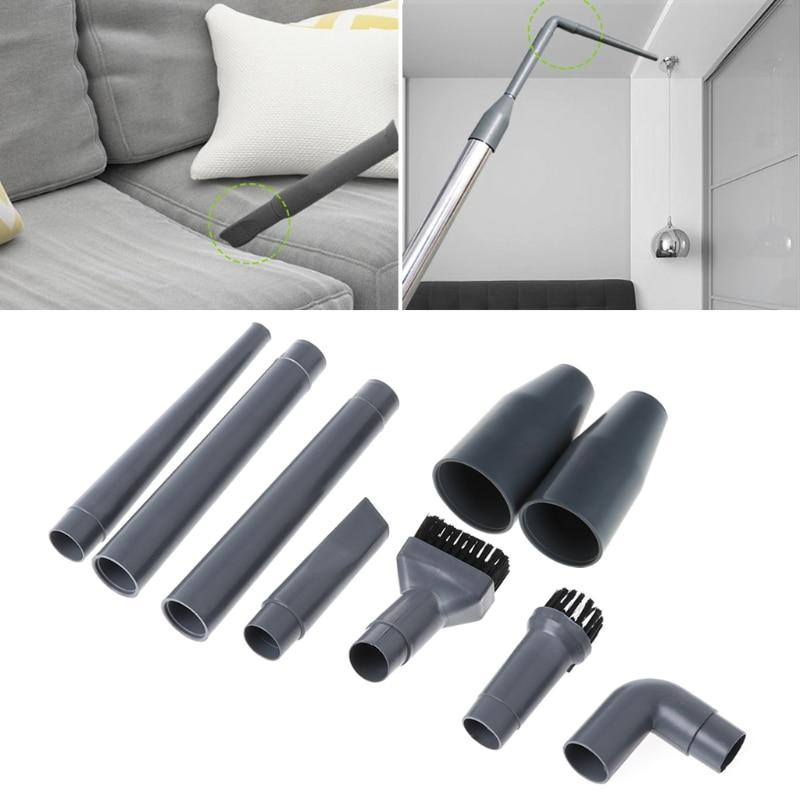 9Pcs Vacuum Cleaner Accessories Multifunctional Corner Brush Set Plastic Nozzle