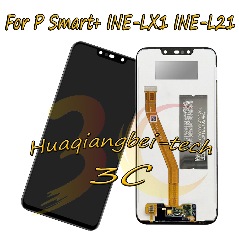 6.3 New For Huawei P Smart+ ( P Smart Plus ) INE-LX1 / INE-L21 Full LCD DIsplay + Touch Screen Digitizer Assembly 100% Tested6.3 New For Huawei P Smart+ ( P Smart Plus ) INE-LX1 / INE-L21 Full LCD DIsplay + Touch Screen Digitizer Assembly 100% Tested
