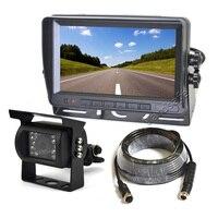 Vardsafe VS803M | заднего вида резервного копирования камера + 7 дюймов TFT ЖК дисплей Мониторы для RV Motorhome трактор прицепы Грузовик Автобус Ван
