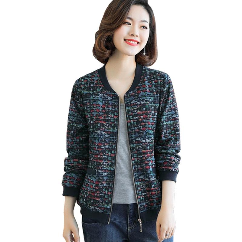bebae9783648c Grande-taille-femmes-veste-courte-2019-printemps -automne-nouveau-moyen-d-contract-ge-casual-femme-manteau.jpg