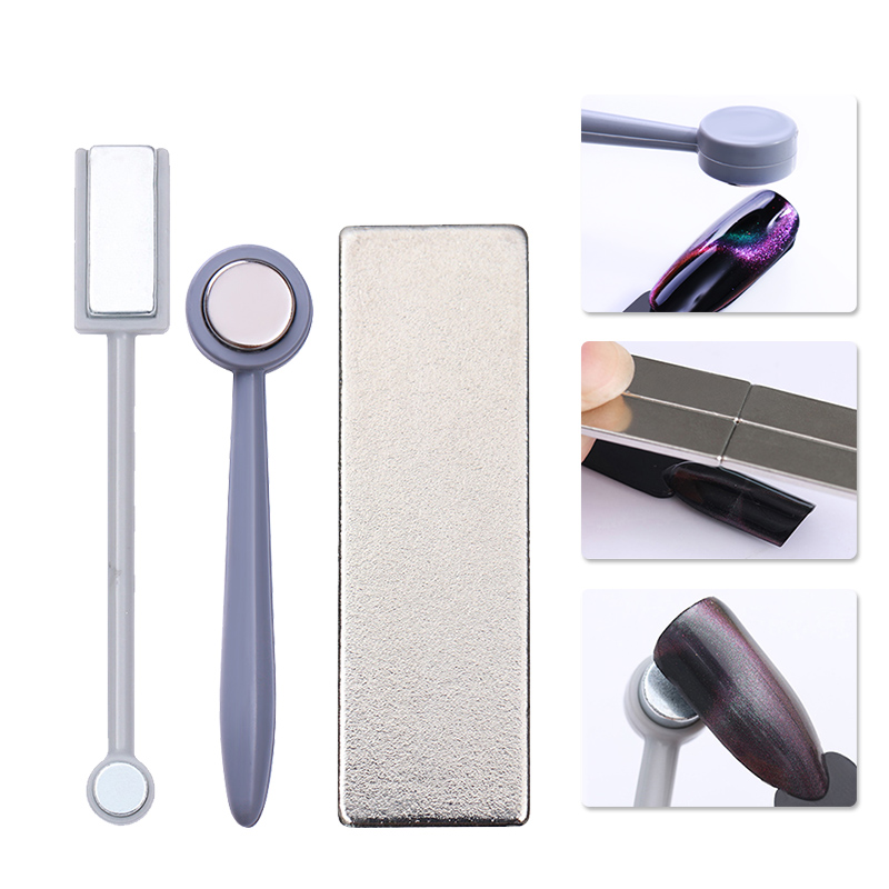 1pc cat eye magnet stick nail tool 3d effect strong. Black Bedroom Furniture Sets. Home Design Ideas