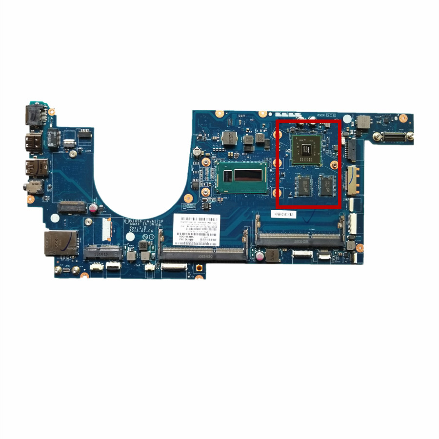 Hot Excellent For lenovo ThinkPad S540 S5 S54 Laptop Motherboard With SR16Q i3 4010U CPU DDR3L