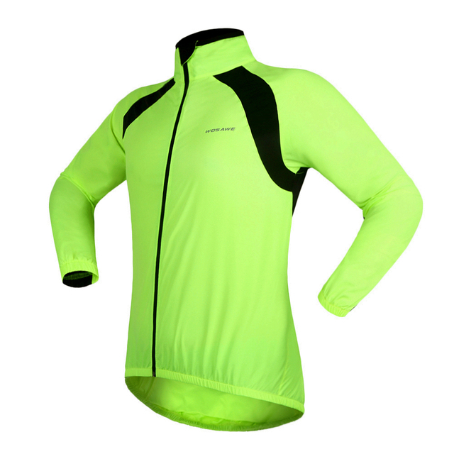 WOSAWE  Bike Bicycle Cycling Cycle water repellent Rain Coat Raincoat Wind Coat Windcoat Jersey Jacket High Quality