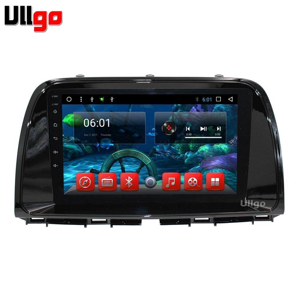 9 pouce Octa Core 1024x600 Android 7.1 Voiture DVD GPS pour Mazda CX-5 2013 2014 Autoradio GPS avec BT Radio RDS Wifi Miroir-Lien