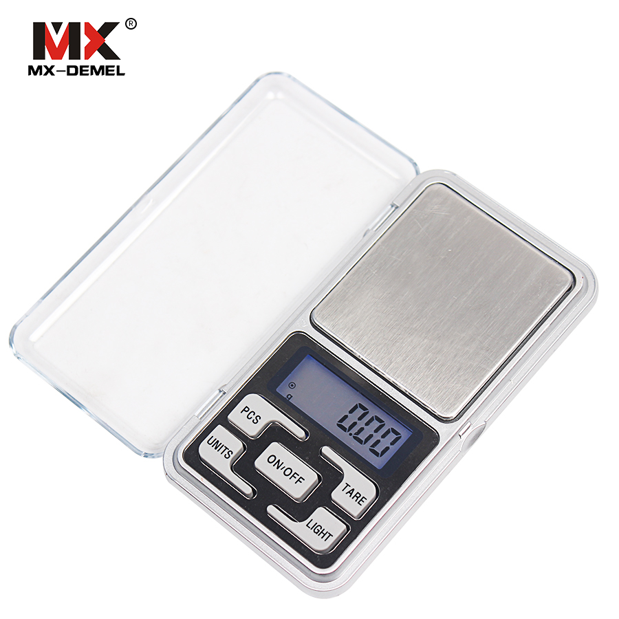 200g x 0.01g Mini Precision Digital Scales for Gold Bijoux Sterling Silver Scale Jewelry 0.01 Balance Weight Electronic Scales 500g 0 5g lab balance pallet balance plate rack scales mechanical scales students scales for pharmaceuticals with weights