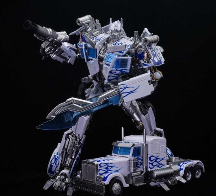 HOT Transformation OP Commander MPM04 MPM-04 LT-02-W LT-02W Alloy Blue And White Porcelain Movie 5 KO Action Figure Robot Toys