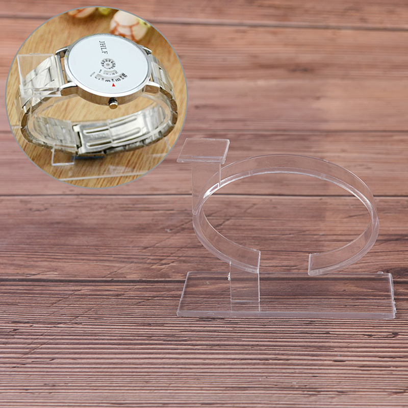 2018 New Fashion 1pc Plastic Jewelry Bangle Cuff Bracelet Watch Display Stand Holder Watch Holder 80 X 35 X 60 Mm