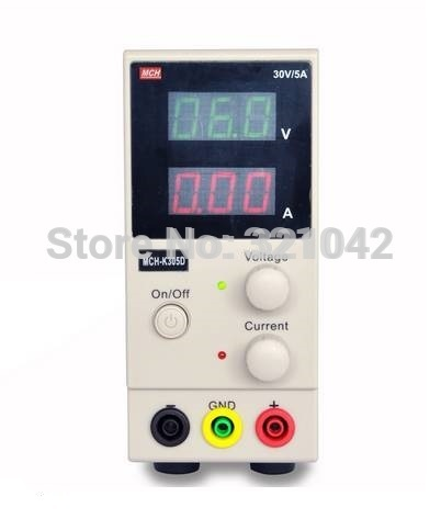 MCH-K305D Mini Switching Regulated Adjustable DC Power Supply SMPS Single Channel 30V 5A Variable MCH K305D