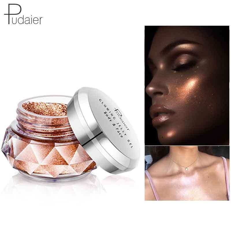 Beauty Essentials Face Gel Waterproof Beginner Beauty Tools High Light Featured Highlights Jelly Powder Mermaid Eye Shadow Cream Body
