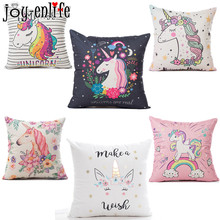 Buy JOY-ENLIFE1pcs Unicorn Pillow Cushion cover Line online