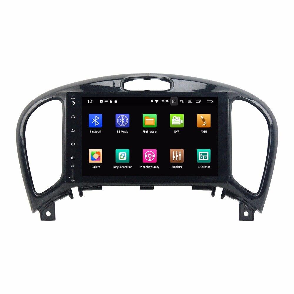 KLYDE 8 Core 8 2 Din Android 8,0 Автомобильный мультимедийный плеер для Nissan JUKE 2004-2016 автомобильный аудио стерео радио Автомобильный dvd-плеер