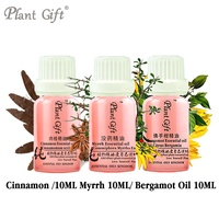 100% Pure Plant Essential Oils Cinnamon / Myrrh / Bergamot Oil 10ml Sri Lanka Imports Antibacteria Ease Digestion