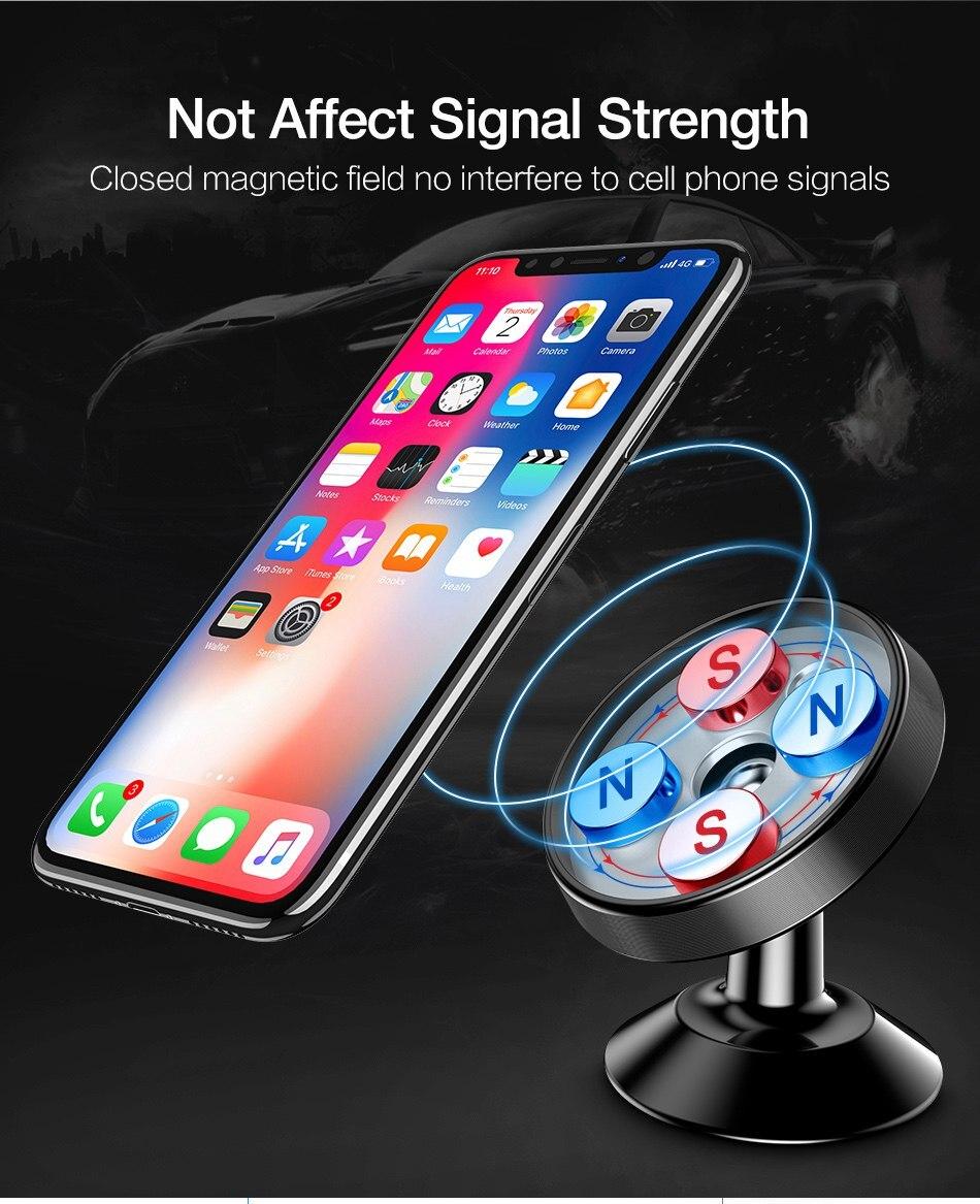 HOT SALE] Car Phone Holder Magnetic Dashboard Phone Holder