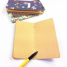 1pcs/lot vintage small floral series notebook pocket mini memo book diary paper notepad  scratch pad stitching binding