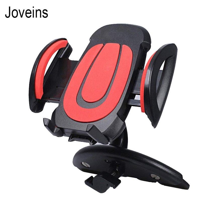 JOVEINS CD Slot de Suporte Do Telefone Do Carro Universal Suporte de Montagem Suporte Móvel Celular Para iPhone 6 7 8 Plus X suporte Para Carro de smartphones