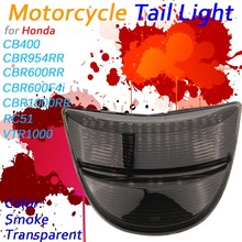 LED Tail Light For Honda CBR1000RR CBR600RR CBR600 RC51 VTR1000 Integrated Motorcycle Turn Signal Stop Warning Lamp