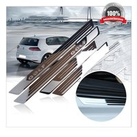 Car Door Sills for VW Goft 6 7 Stainless Steel Car Door Sill Scuff Plate fit for Golf 6 Golf 7 2010 2017