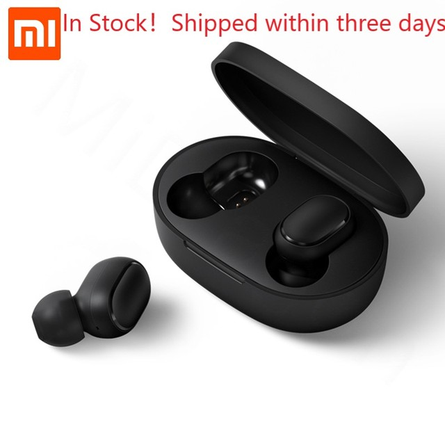 Xiaomi Redmi AirDots True Wireless bluetooth 5.0 Earphones DSP Active Noise Cancellation Headset With Mic Earbuds