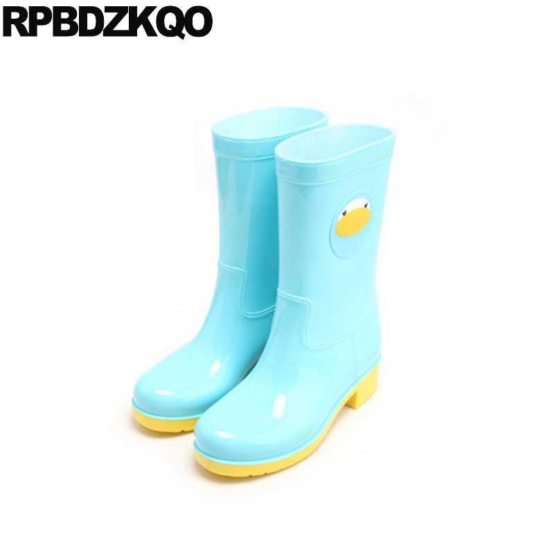 de9793733735 Желтые непромокаемые сапоги с героями мультфильмов, осенняя дешевая обувь  до ...