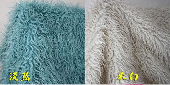 ( 75 * 95 cm ) cobertor de peles artificiais cesta Stuffer fotografia adereços. Recém-nascido fotografia adereços