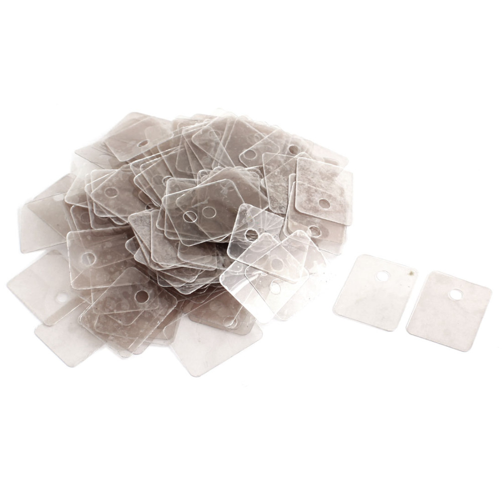 Uxcell 200pcs Hole Dia 3.5mm Mini Mica Insulator Spare Part For Microwave Ovens Sheets For Midea Magnetron Cap Plates