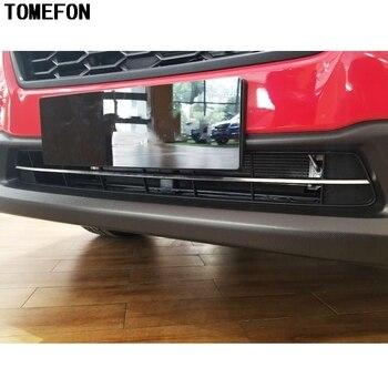 TOMEFON 1 штука для Subaru XV 5-дверный хэтчбек 2017 2018 нержавеющая сталь внешняя Нижняя передняя решетка гриль крышка декоративная отделка