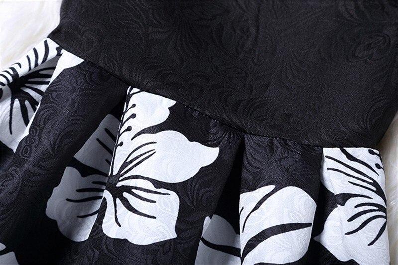 Femme fashion sweet Ball Gown party dress Women,Printed vest sleeveless dress tutu summer style bottoming,summer dress TT818 6