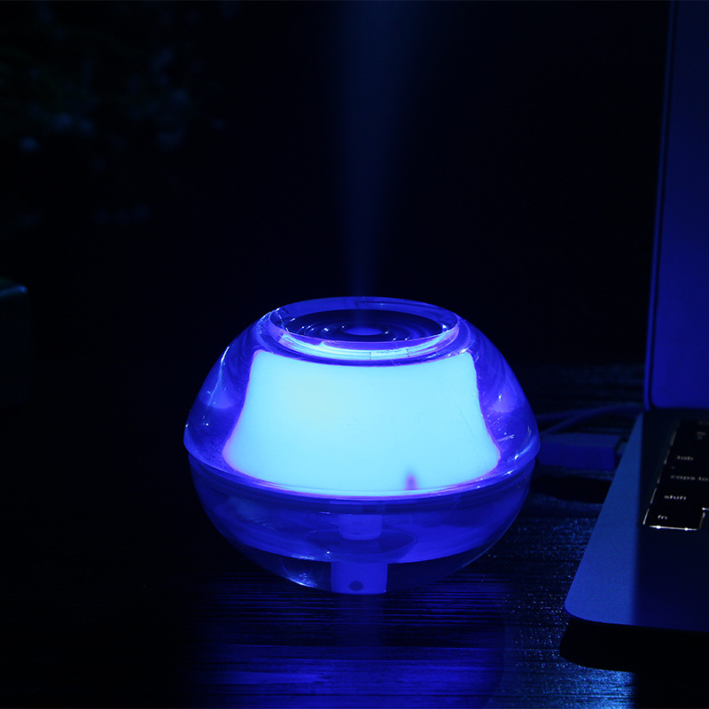 GXZ Creative USB Crystal Air Humidifier Night Light Ultrasonic Desk Humidifiers Mist Maker Mini Household Office Air Purifier 5pcs lot 8 130mm replacement cotton swab for air ultrasonic humidifiers mist maker humidifier part replace filters can be cut
