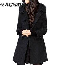 B70 Женская куртка Casaco Feminino, зимнее двубортное тонкое пальто с капюшоном, Женское пальто, верхняя одежда, пальто, Повседневная модная куртка