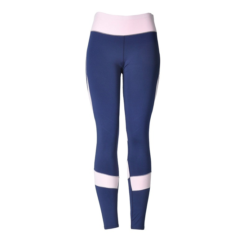 Women   Pants   &   Capris   Solid Elastic Trousers Stitching Slim High Rise Workout   Pant   Leggings Skinny Leggings Trousers Newest
