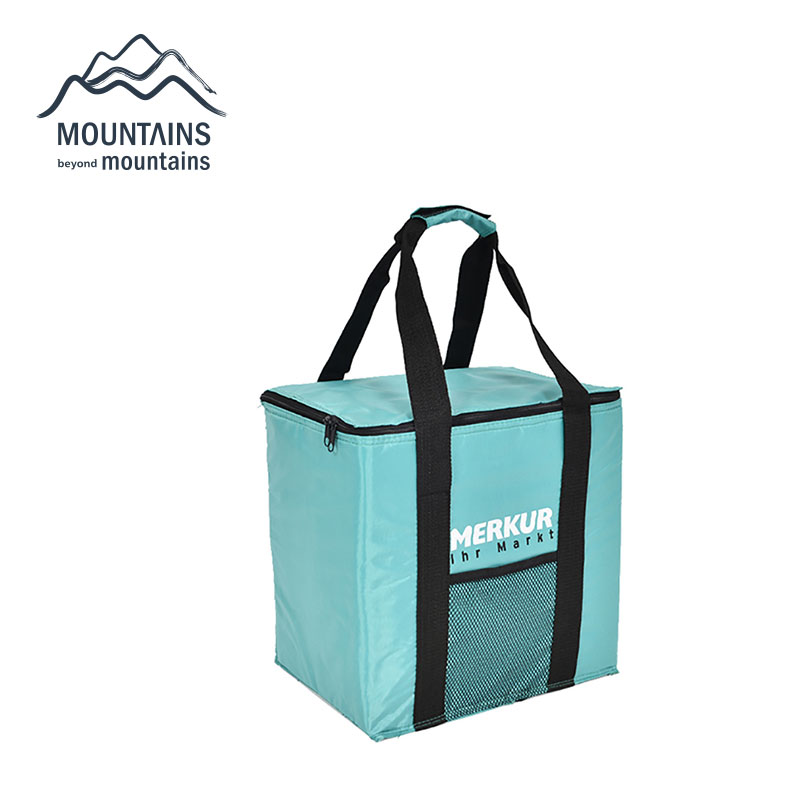 new portable lunch bags large capacity insulated cooler bag picnic basket cooler zip closure shopping