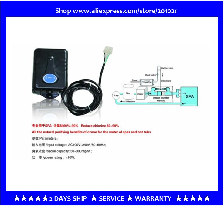 spa tub ozone comply with balboa system & heat pump ozonizer & ozone units for Chinese and Amercian spa spa hot tub bath pump blower air switch for china lx pump air switch