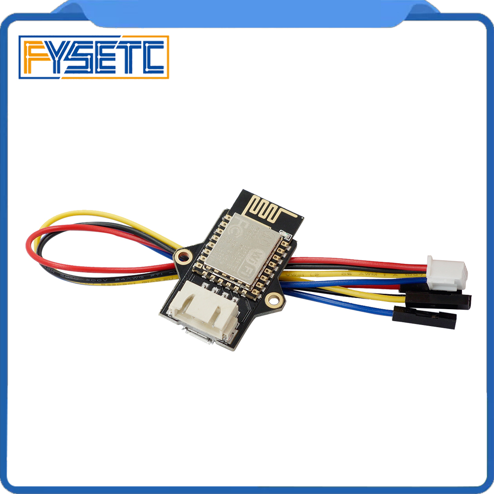ESP8266 WIFI Extensible Module Remote Control ESP3D For 3D Printer Board Connect AP Mode Client Station Mode VS MKS TFT-WIFI