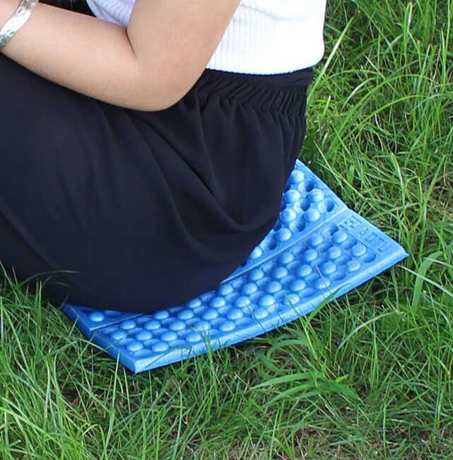 Легкий открытый сотовой массаж влагостойкий седло складной коврик для одного человека подстилка из вспененного этиленвинилацетата (ЭВА) портативные маленькие коврики