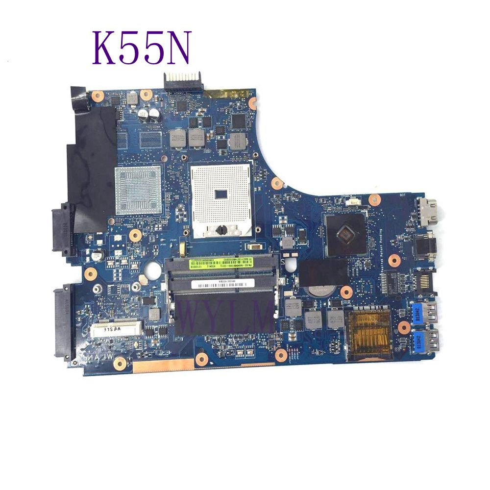 K55N Mainboard For ASUS K55N K55DE K55DR Laptop motherboard 60-NAMMB1000-C01 100% Tested Working Well free shipping стоимость