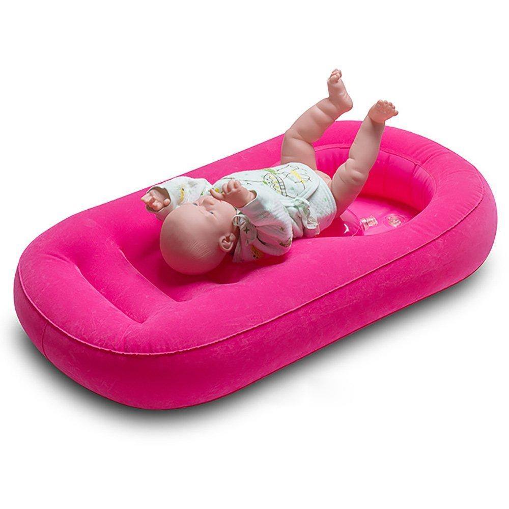 Купить с кэшбэком 80cm Portable Inflatable Baby Bath Tub Newborn Inflatable Bathtub Baby Bath Seat Babies Bathing Wash Hair Ass Basin Baby Care #C