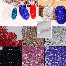 2017 New MIX 1.2mm 1440pcs Crystal Chaton Nail Art Pixie Rhinestone Micro Pixie Manicure Decoration Tiny Mini Pixie Rhinestones 2018 new all sizes 1440pcs crystal chaton nail art pixie rhinestone micro pixie manicure decoration tiny mini pixie rhinestones