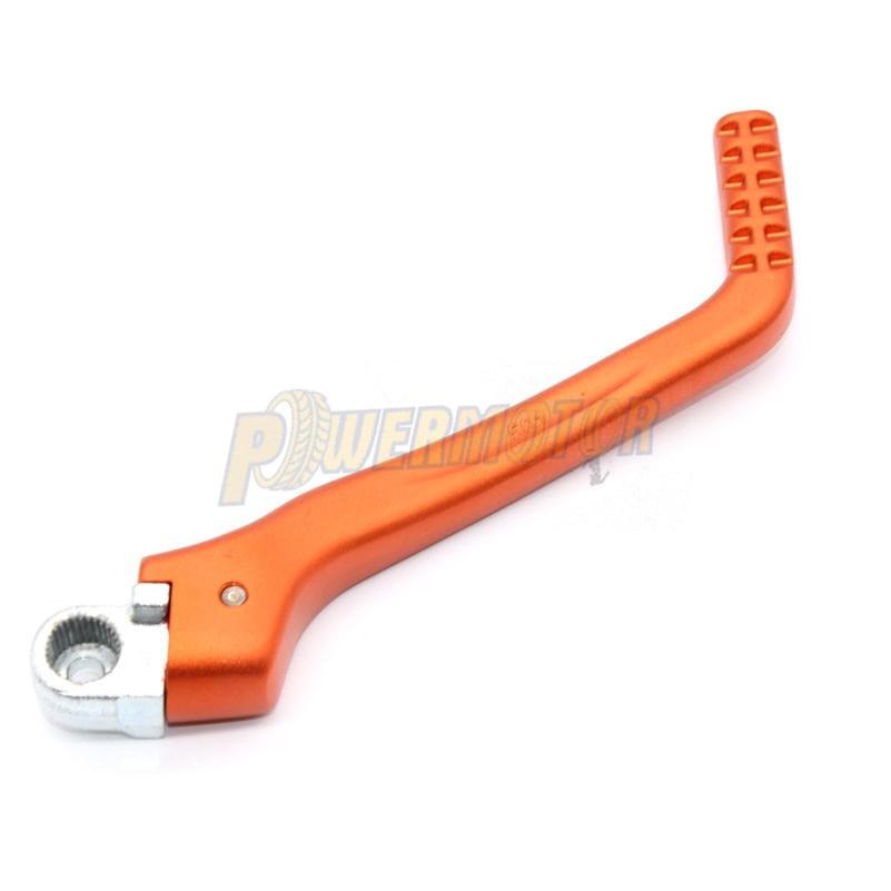 Kick Starter Anodized Orange for KTM 200 XC-W 2010-2011