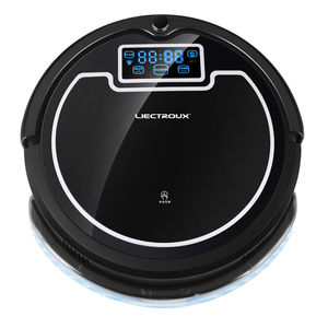 Image 3 - (Free Shipping to All, Fast Delivery) Robot Vacuum Cleaner with Water Tank,Wet&Dry,TouchScreen,Big Mop,Schedule,Virtual Blocker