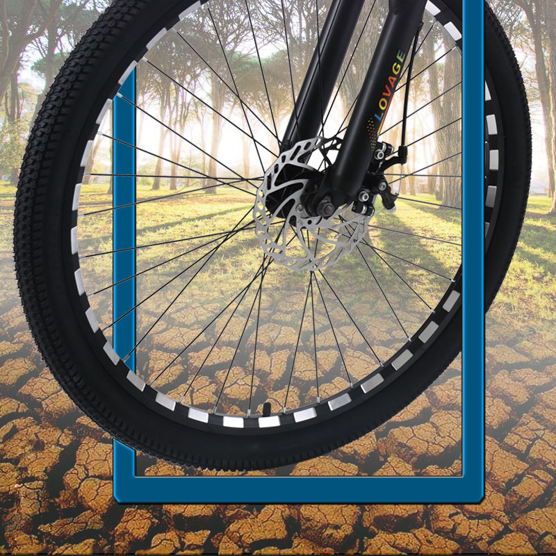 HTB1SsD8V3HqK1RjSZFgq6y7JXXa8 wolf's fang Mountain Bike 21 speed bicycle 26 Fat Bikes road bike Aluminum Alloy Resistance Rubber man bicycles Free shipping