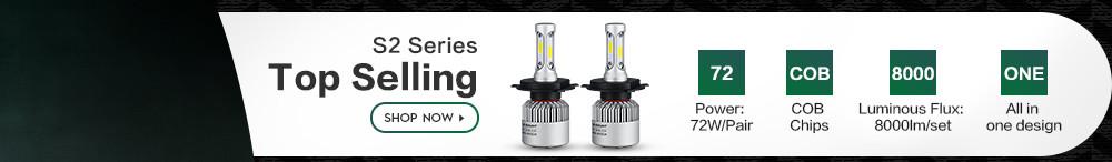 техники С5 Н1 Н3 Н4 Н7 н11 9005 9006 9007 удара светодиодные фары 72 вт 8000 лм все в одном автомобиле светодиодные фары для автомобиля лампы Tan света к 12 в 24 в 6500