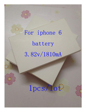 1pcs 2016 New Li ion Polymer Battery 3 82V 1810mA 100 Original For iphone6 Li ion