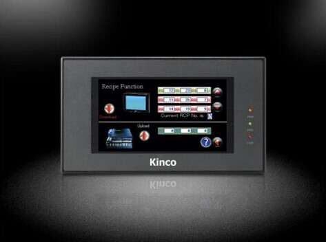 MT4404T : 7 Inch 800x480 HMI Touch Screen Kinco MT4404T New with USB program download Cable, Fast shipping