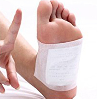 100pcs Patches+100pcs Adhesives Charcoal Detox Foot Pads Patches with Adhesive SK88