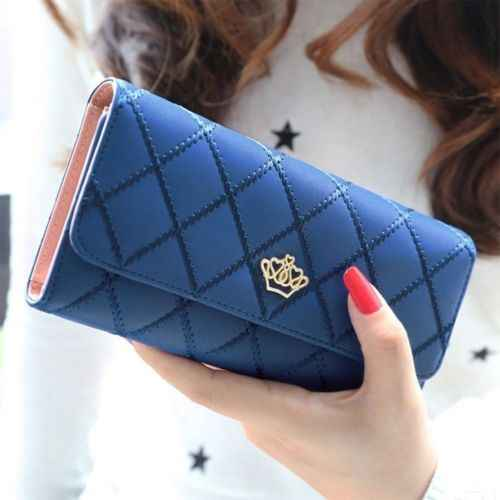 Vrouwen Lady Clutch Lederen Portemonnee Lange Kaarthouder Telefoon Bag Case Purse Handtas Multifunctionele Portemonnees Smart Bag