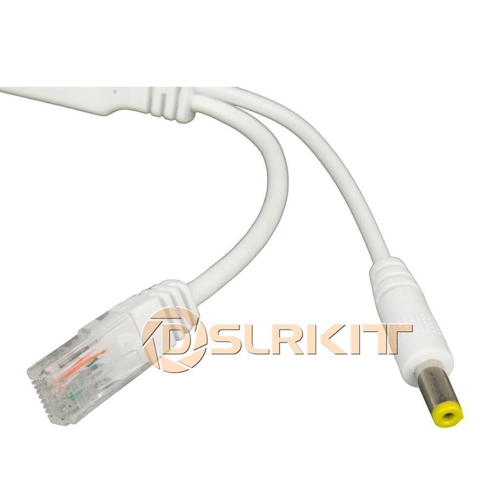 DSLRKIT 9 Ports 8 PoE Kit (Switch + PoE Splitter) 18V-55V to 12V DC Buck converter 4